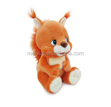 Best Selling Stuffed Wild Animal Plush Toy Soft Plush Squirrel