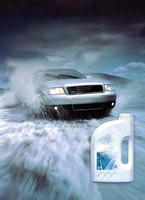 Anti-icing fluid, coolant for engine cooling system