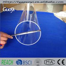 High quality high purity large quartz tube precision glass tubing