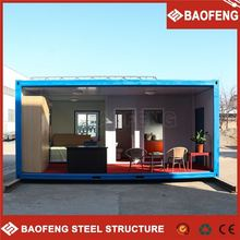 shock resistance convenient to change shipping container into homes