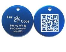 QR Code pet tag/pet id tag/dog id tag