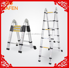 used ladder for sales folding chairs BF-A250 portable stairs aluminum telescopic ladder yongkang factory