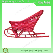 Factory wholesale wicker sleigh Christmas gifts for chilren