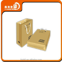 2015 new design China Manufacture Kraft Paper Bag Packaging