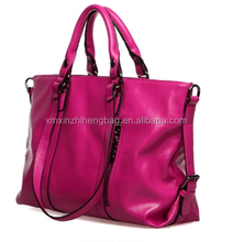 PU shoulder bag and hand bag brand handbags made in china
