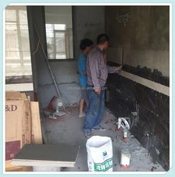 ovaChip Surface Treatment process tile adhesive