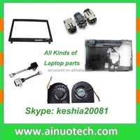 Laptop Spare Parts A B C D Cover Housing Screen baffle for laptop repairing parts DC power jack keyboard and CUP cooling fan