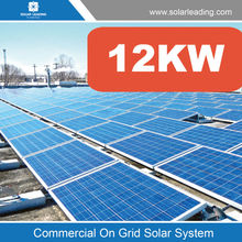 Easy installation 12000w solar energy system include monocrystalline solar panel also with ture sine wave inverter