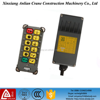 radio remote control for crane with 10 Buttons / Industrial remote control