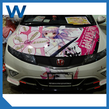 Promotional pvc vinyl decorative car sticker paper