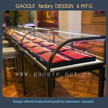 Fast Delivery jewelry display table for jewelry display
