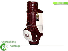 Genuine Leather Golf Cart Bag