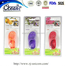 funky shoe hanging perfume pendant air freshener for car home or office