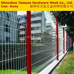 cheap temporary pvc coated welded mesh fences for home garden