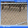 Diamond Wire Mesh Chain Link Fence Top Barbed Wire 1 Inch Chain Link Fence Temporary Construction Chain Link Fence