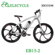EB15-2 Front disc brake & Rear V brake ebike 26 inch folding bike bicycle folding
