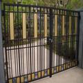 jardim personalizado portão de alumínio