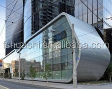 4mm outside aluminum composite panel for hotel projects