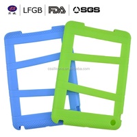 High quality and Eco-friendly promotion fornet book silicone ipad case , new fashion silicone cover