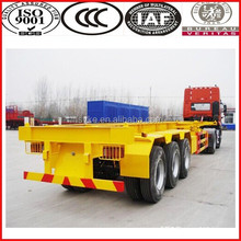 Promotion! brand new skeleton semi trailer container chassis for cotainer transporting