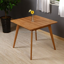 Square Solid Oak Wood Table