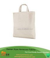 Plain white cotton bag canvas tote