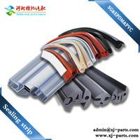 high pressure flexible insulation rubber epdm pvc silicone curtain wall gaskets round foam sealing strip
