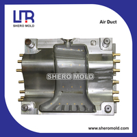 professional auto parts blow mold for air duct