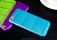 High quality soft TPU phone cover full body back protector case for iPhone 6 Plus 5.5