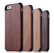 Real Wood/Bamboo +PC Cell Phone Case For Iphone 5 Case.