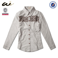 trendy blouses ladies blouses and tops linen blouse15007