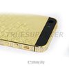 wholesale Luxury 24kt gold coin housing for iphone 5s 24kt gold plated for iphone 5 gold housing