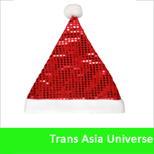 High Quality Lighted or Musical Santa Hats