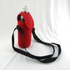 Neoprene sports bottle holder with shoulder strap
