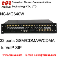 GSM voip gateway 32 channels with changeable IMEI GOIP32