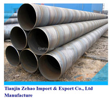 Epoxy Coal Pitch Coating SSAW/HSAW Spiral Welded Steel Pipe for Oil and Gas