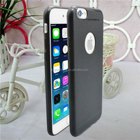 PU skin&Microfibre mobile phone cases for iphone 6 cover