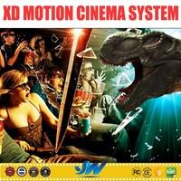 2015 new Electric 3d 4d 5d 6d 7d xd motion cinema system
