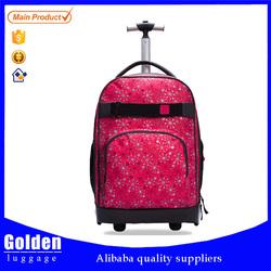 trolley case bag big capacity backpack luggage bag trolley backpack bag