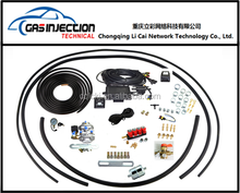 Auto gas cng complete fuel conversion kit