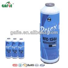 99.9% purity 30lb/13.6kg R134a gas refrigeration supplier CE/DOT/KGS