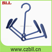sell well pale blue plastic shoe hangers wholesale or hanging slipper