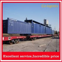 Fast Railway logistics shipping from China to St Petersburg----- Frank ( skype: colsales11 )