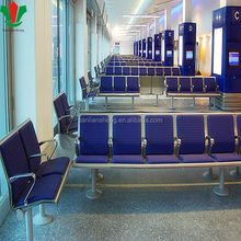 Airport waiting areas chair with soft cushion