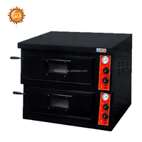 FORTUNE FGP-2-6 comercial brick gas pizza oven for sale