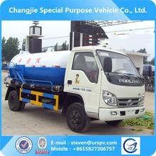 Foton nova condição de vácuo de sucção de esgoto petroleiro caminhão para venda