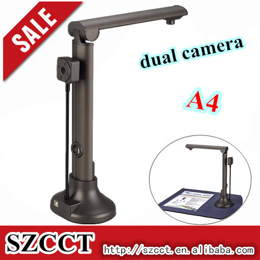 2015 New arrival dual camera 5MP intelligent scanner P02-A4