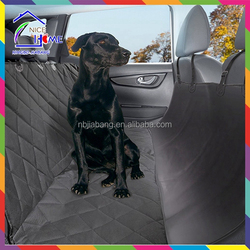 High quality waterproof quilted dog pet car seat cover