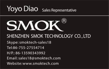 2014 Newest sub ohm 0.3 bluetooth vv vw e cigarette smok bec pro mod with 36W