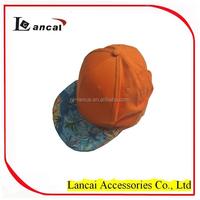 2016 wholesale orange hawaii print snapback baseball cap